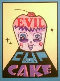 Evil Cupcake
